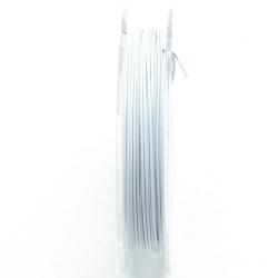 Staaldraad wit 0.45mm (10 meter)