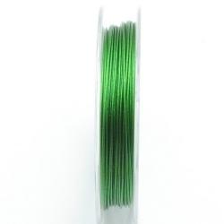 Staaldraad groen 0.45mm (10 meter)