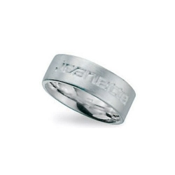 Ring, Sterling zilver, maat 18 (1 st.)