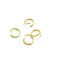 Ring open goud 8 mm (10 gram)