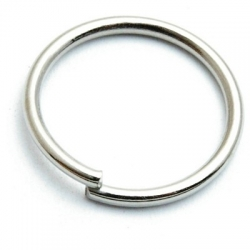 Ring open goud 12 mm (10 gram)