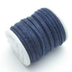 Veter, blauw, 3 mm (2 meter)