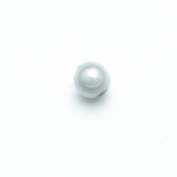 Miracle bead rond grijs 8 mm (20 st.)