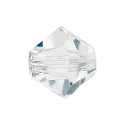 MC Bead, Rondell / Bicone, Crystal, 4 mm