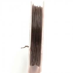 Staaldraad zwart 0.45mm (10 meter)