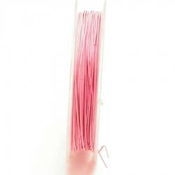 Staaldraad roze 0.45mm (10 meter)