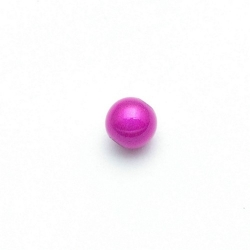 Miracle bead rond fuchsia 8 mm (20 st.)