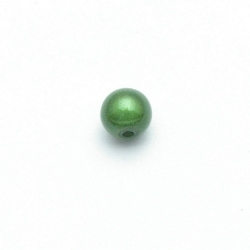 Miracle bead rond groen 8 mm (20 st.)