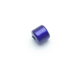 Miracle bead tonnetje blauw 8 mm (10 st.)