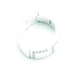 Ring, sterling zilver, schakels van Esprit, maat 18 (1 st.)