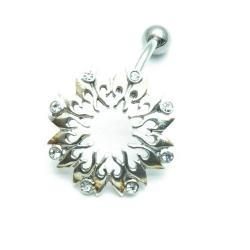 Piercing, Sterling zilver, zon (1 st.)