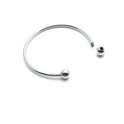 Armband, pandora style, zilver, 16 cm (1 st.)