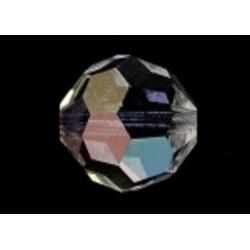 Preciosa rond, Crystal AB, 4 mm (1 st.)