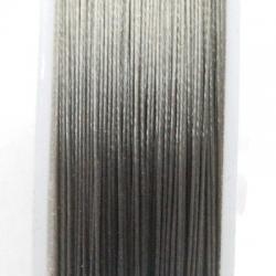 Staaldraad grijs 0.45 mm (100 meter)