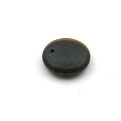 Hanger, hout, rond, bruin, 14 mm (10 st.)