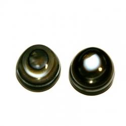 Cabochon, ovaal, halfedelsteen, Agaat, 24 x 18 mm (1 st.)