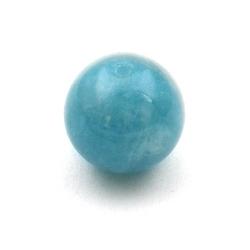 Blue Sponge Quartz, kraal, rond, 14 mm (5 st.)