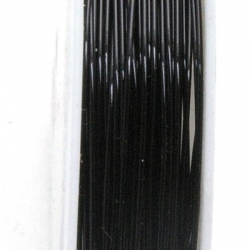 Wire Wire zwart 0.3mm (10 mtr.)