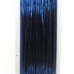 Wire Wire nachtblauw 0.3mm (10 mtr.)