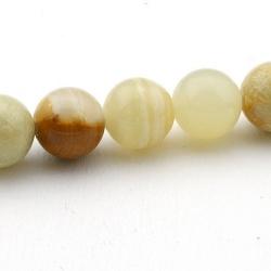 Halfedelsteen kraal, Afghaanse Jade, rond, 10 mm