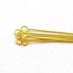Kettelstiften, goud, 35 mm (10 gram)