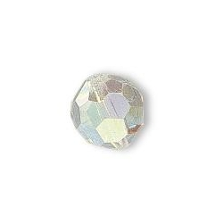 Preciosa rond, Crystal AB, 8 mm (1 st.)