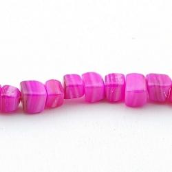 Schelp kraal, roze, ong. 8 mm (10 st.)