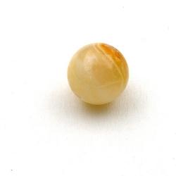 Halfedelsteen kraal, Afghaanse Jade, rond, 14 mm (3 st.)