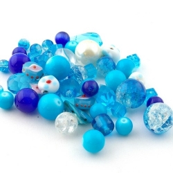 Mix, blauw