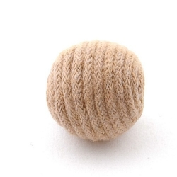 Touwkraal, beige, 21 mm (3 st.)