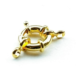 Boeislot, goud, 18 mm (3 st.)