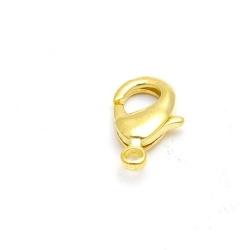Karabijnslot, goud, 18 mm (5 st.)