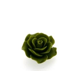 Hanger, roosje, groen, 20 mm (5 st.)