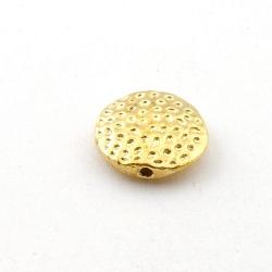 Metalen kraal, rond, goud, 16 mm (5 st.)