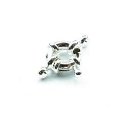 Boeislot, zilver, 12 mm (3 st.)
