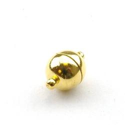 Magneetslot, goud, 16 mm (3 st.)