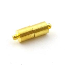 Magneetslot, goud, 22 mm (3 st.)