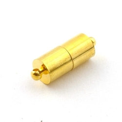 Magneetslot, goud, 24 mm (3 st.)