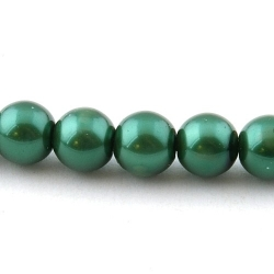 Glasparel, groen, 10 mm (streng)