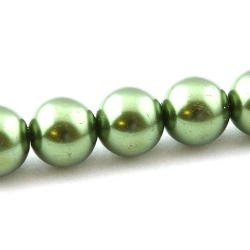Glasparel, groen, 12 mm (streng)