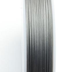 Staaldraad grijs 0.6mm (70 meter)