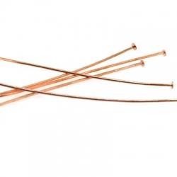 Nietstiften, roségoud, 50 mm (10 gr.)