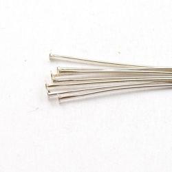 Nietstiften, zilver, 60 mm (10 gr.)