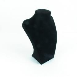 Buste, velours, zwart, 36 x 20 cm (1 st.)