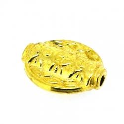 Metalen kraal, rond, goud, 18 mm (5 st.)