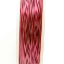 Wire Wire fuchsia 0.6mm (10 mtr.)