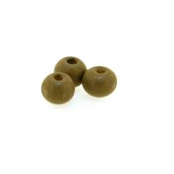 Houten kraal, rond, naturel, 5 mm (25 gram)