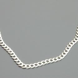 Ketting en armband, zilver (1 st.)