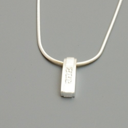 Damesketting sterlingzilver