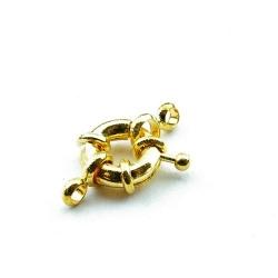 Boeislot, goud, 14 mm (3 st.)